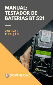 Capa manual - Testador BT 521