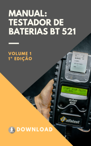 Capa manual - Testador BT 521